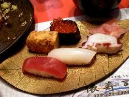 俵寿司の寿司