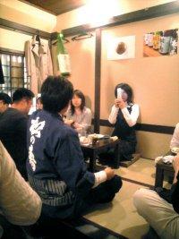 松井さん、お酒の説明