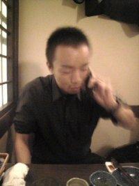松井さんにイタ電中