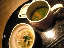 青森シャモロックの鶏スープ
