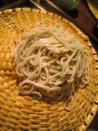 栃木県「常陸秋」新蕎麦