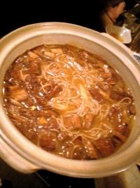 カレー蕎麦鍋