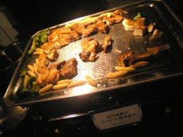 比内地鶏のスパイス風味焼き