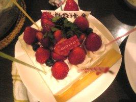 「祝・かんぴょう会・金」ケーキ