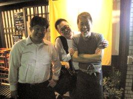 辻さん、櫻井さん、井越さん