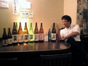 本日の酒と渡邉さん