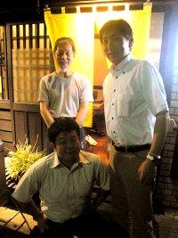 井越さん、辻さん、松井さん