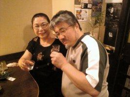 「串駒」女将さんと名智さん