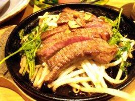 見蘭牛ステーキ