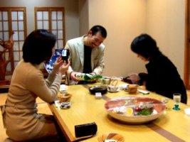 稲垣さん、ゴリさん、比留間さん