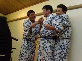 井上さんと辻さんと大坂さん、えっ?