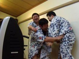 井上さんと辻さんと大坂さん、ええっ?