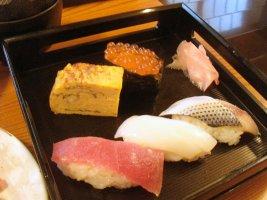 たわら寿のお寿司