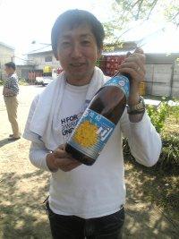 松井さんと司焼酎